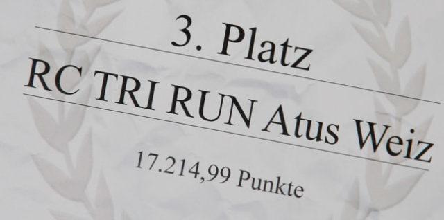 Siegerehrung Weizer Bezirkslaufcup – Gasen 2016