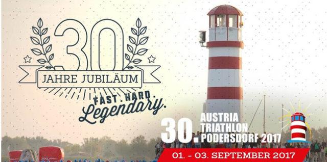 30. Austrian Triathlon Podersdorf 2017