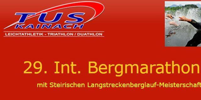 29. Int. Kainacher Bergmarathon 2018
