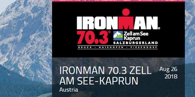 IRONMAN 70.3 Zell am See-Kaprun 2018