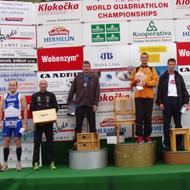 Triathlon -rtr-weiz-Katzer-Quadratlon Weltmeisterschaft in Sedlcany (CZ) 2010