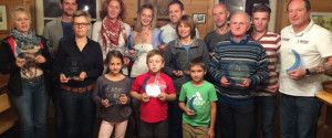 Weizer Bezirkslaufcup 2015: Siegerehrung