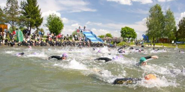 Sprint Triathlon in Großsteinbach 2016