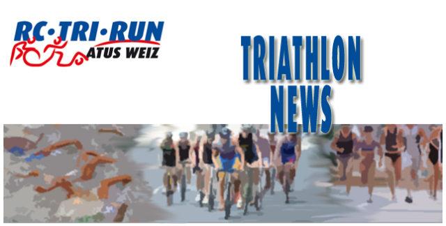 Triathlon Vereinsnews