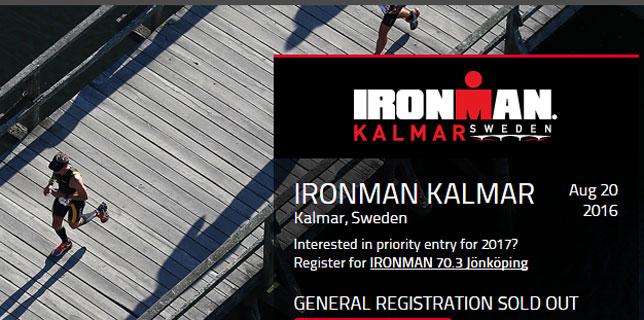 Ironman Kalmar (SWE) 2016