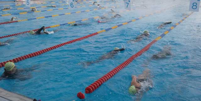 12. Parktherme 24-Stunden-Schwimmen 2017