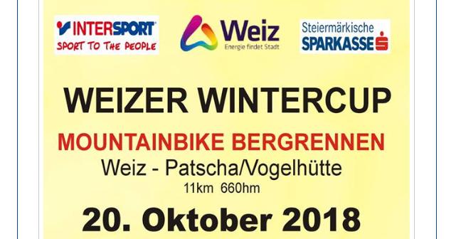 MTB Bergrennen Weizer Wintercup 18/19