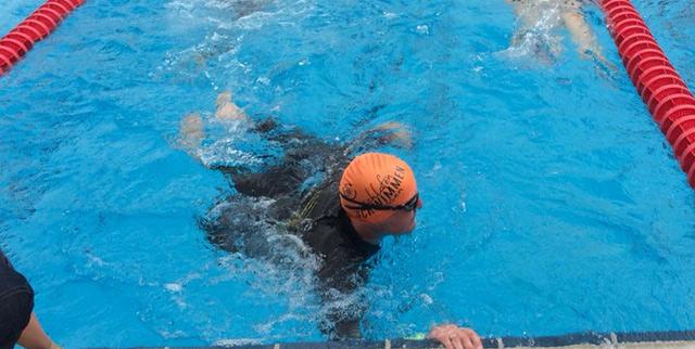 24 stunden schwimmen.