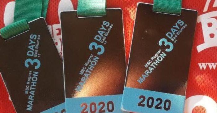 3 Marathons in 3 Tagen – Bad Blumau 2020